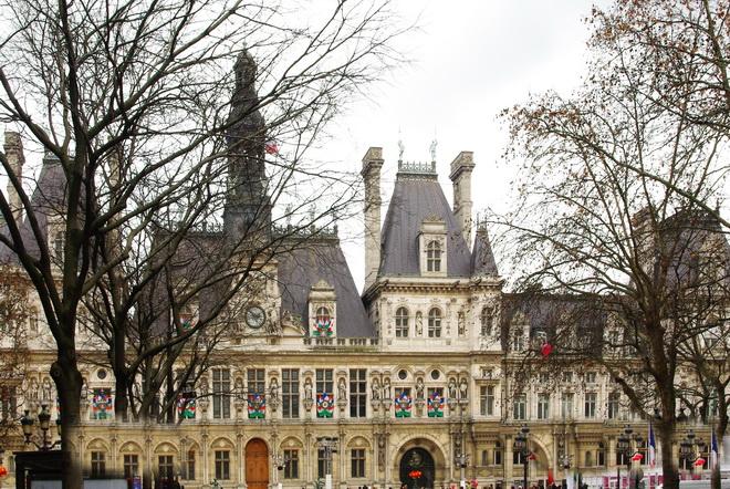 hotel de ville paris beaut et paysages de notre belle france. Black Bedroom Furniture Sets. Home Design Ideas